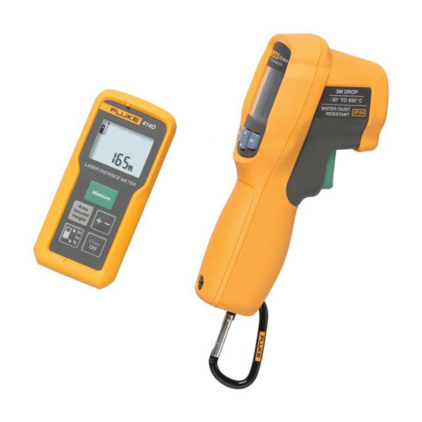 Laser distance meter and IR thermometer kit FLUKE